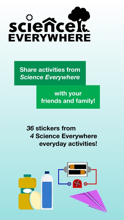 Science Everywhere Stickers