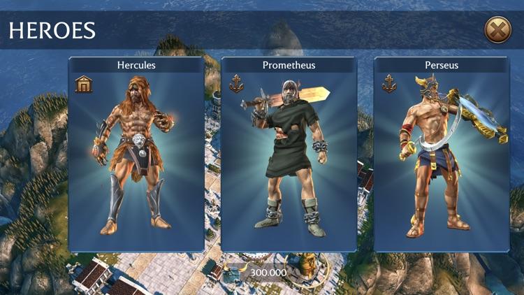 Olympus Rising: Hero Defense screenshot-4
