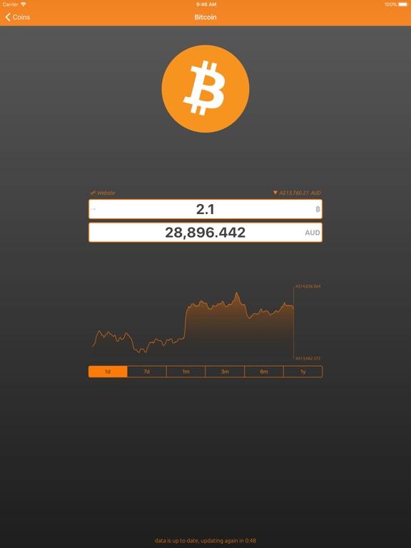 Bitcoin Convert Screenshots