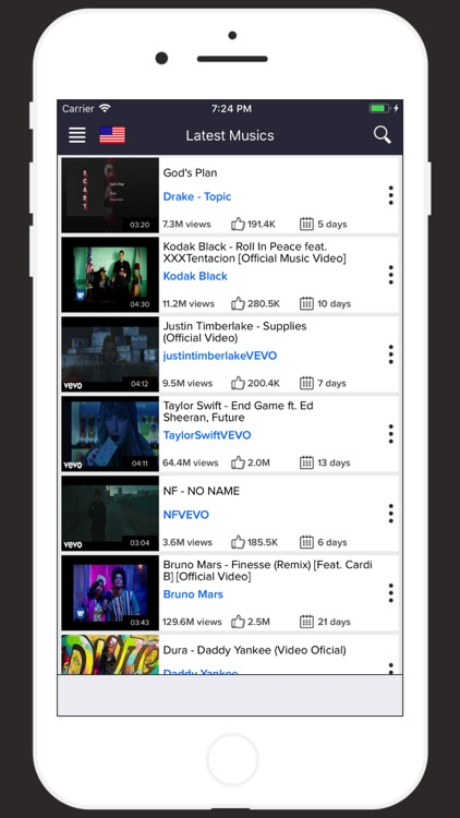 TubiTrend - Music Player