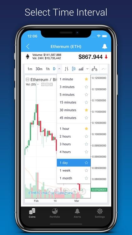 BitWatch - Cryptocurrency screenshot-5