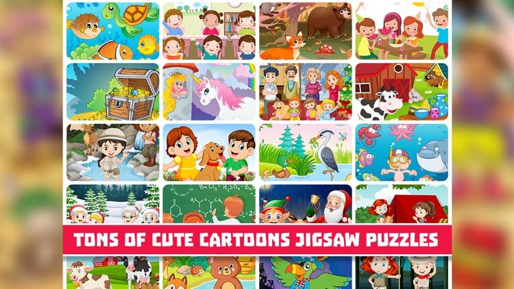 Super Cartoon Jigsaw Puzzles screenshot-3
