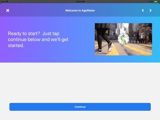AgeMeter Test Screenshots
