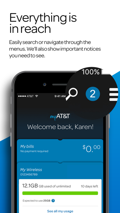 download myAT&T apps 0