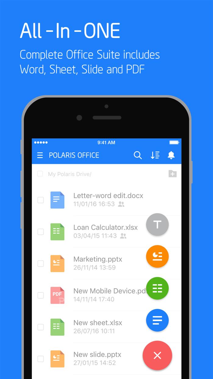 Polaris Office - PDF & Docs Screenshot