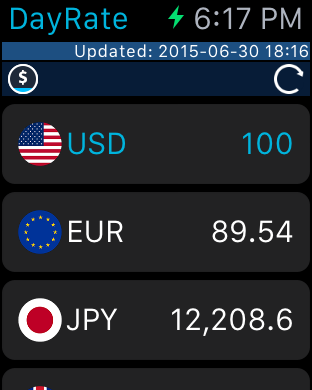 Screenshot #7 for DayRate - Currency Converter