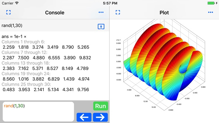 SIMO : Matlab programming app screenshot-2