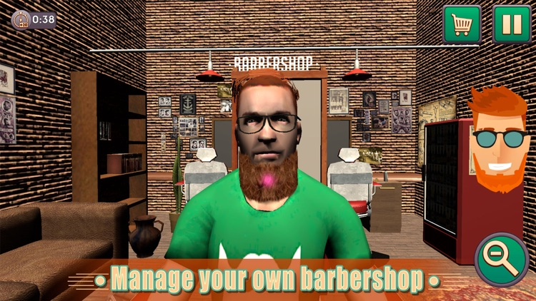 Barbershop Beard Shaving Salon