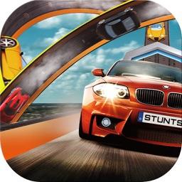 Stunts Car Drive Simulation