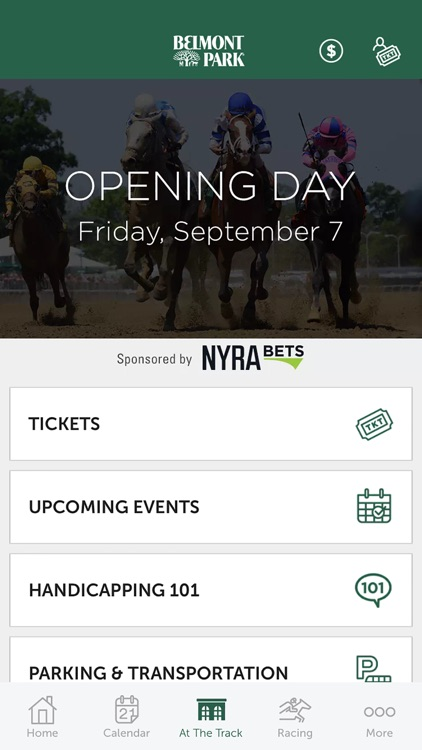 NYRA At The Track Horse Racing