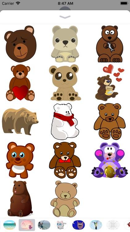 Bear Stickers - 2018