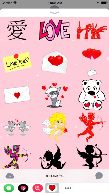 I Love You • 100 stickers screenshot-3