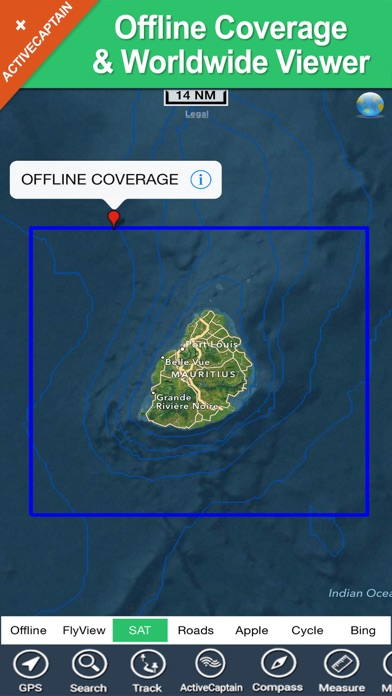 Boating Mauritius Hd Gps Chart review screenshots