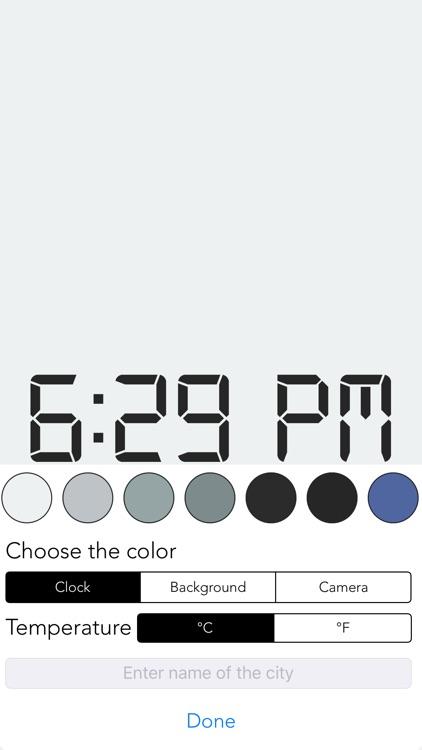 Simple Clock screenshot-0