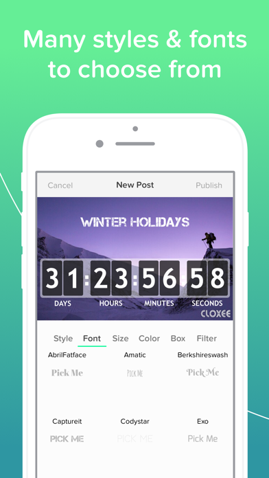 Download Cloxee - Countdown Widget for Pc