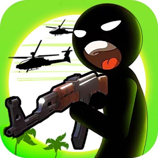 A Man of War:Stickman Shooter