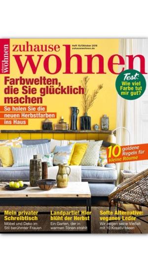 Zuhause Wohnen Zeitschrift zuhause wohnen magazin im app store