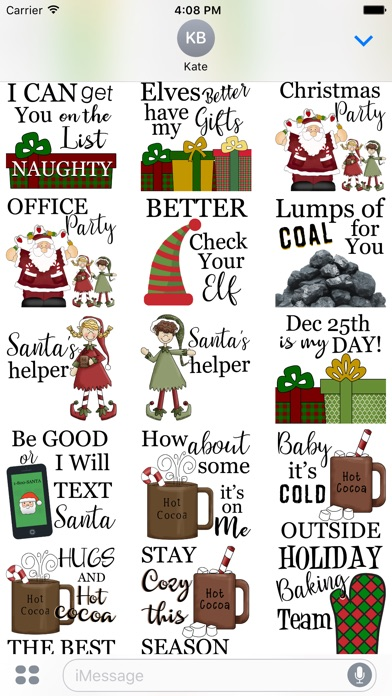 christmas presents stickers app price drops