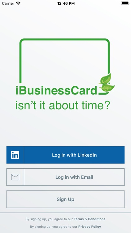 iBusinessCard screenshot-0