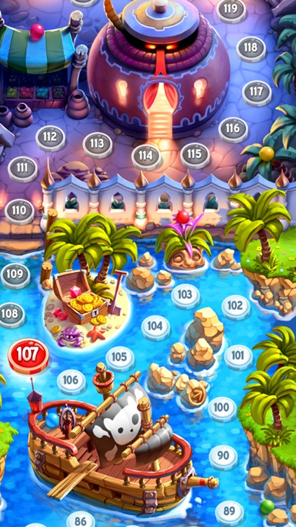 Talking Tom Bubble Shooter screenshot-4