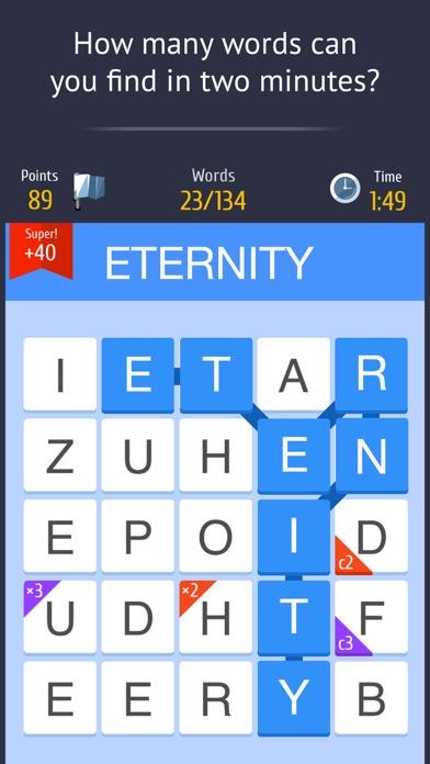Слово за слово - игра с друзьями в слова Screenshot 1
