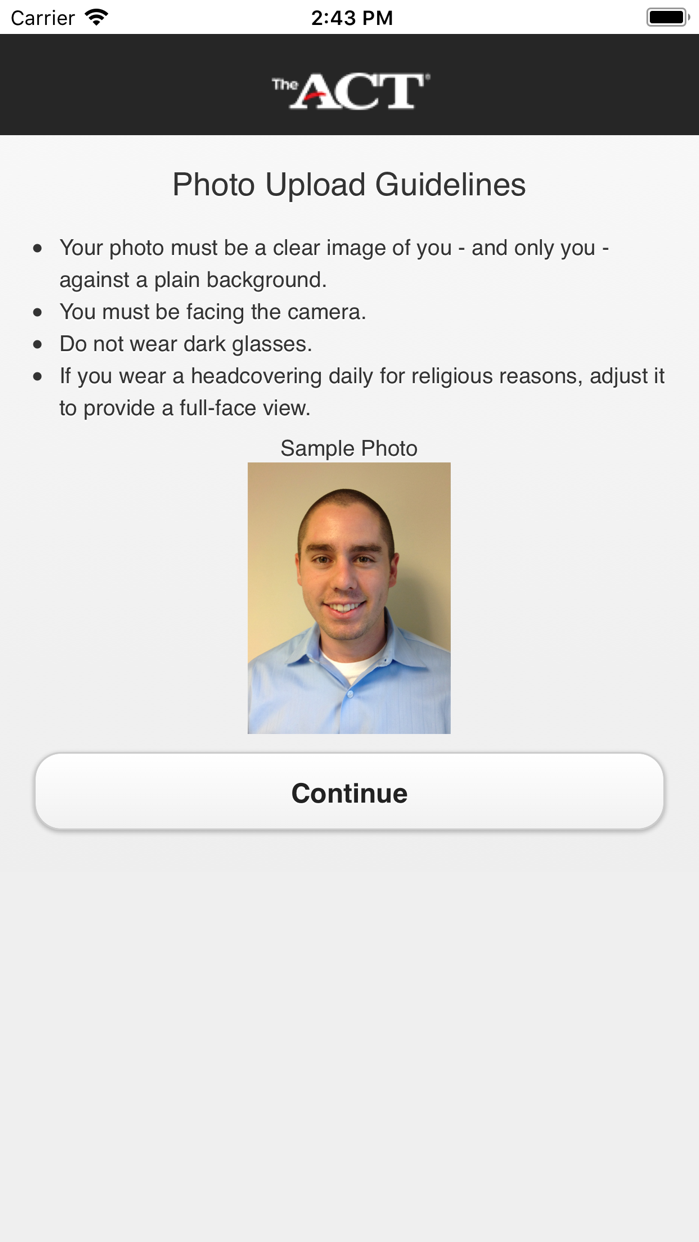 ACTPhoto Screenshot