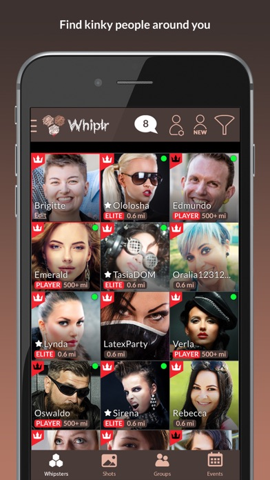 Positive Negative Reviews Whiplr Messenger With Kinks By Matech Ltd Social Category 10 Similar Apps 607 Reviews Appgrooves Get More Out Of Life With Iphone Android Apps