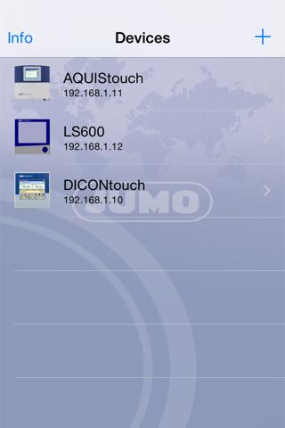 JUMO Device - náhled