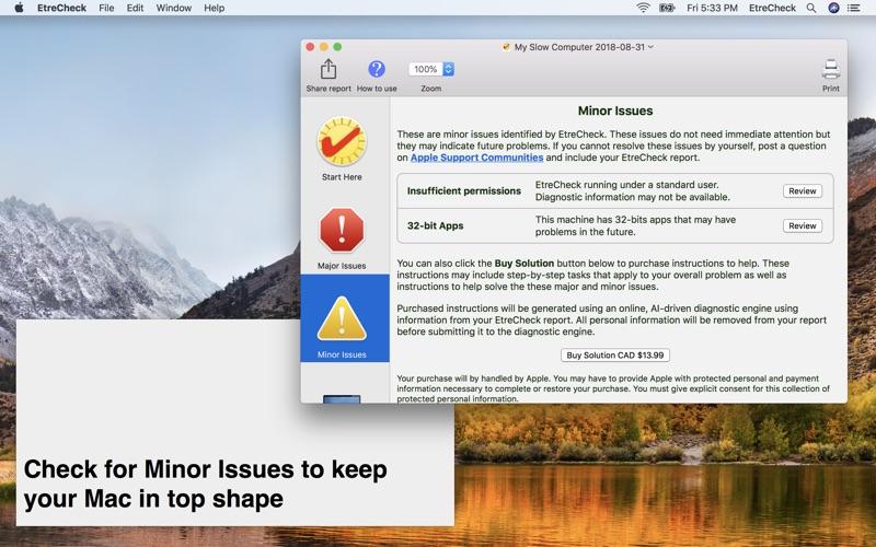 EtreCheck Screenshot - 5