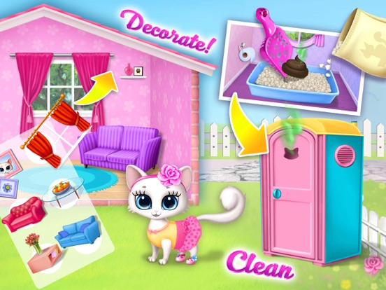 Kitty Meow Meow My Cute Cat screenshot 10