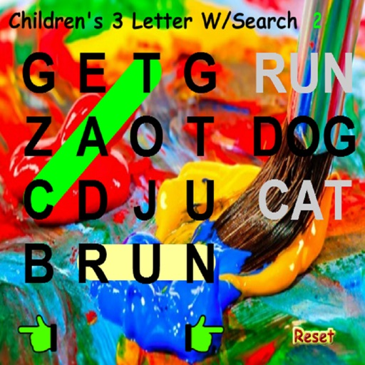 Kids 3 Letter Word Search