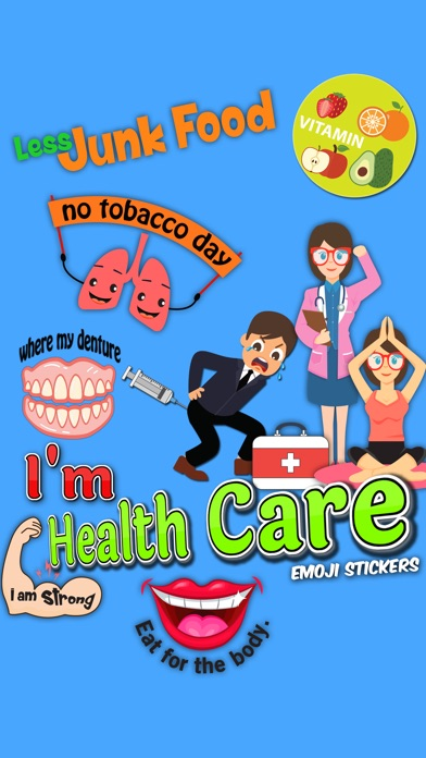 download I'm health Care emoji Stickers apps 0