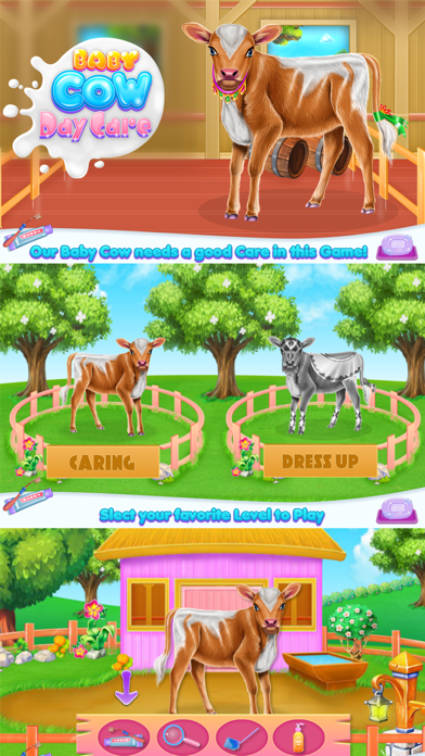 Baby Cow Day Care Screenshot
