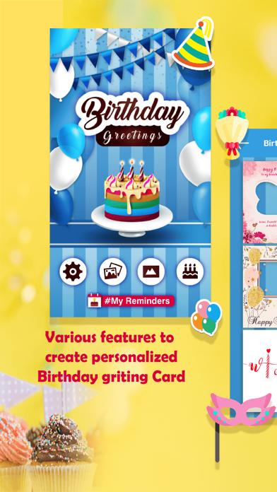 BirthdayGreetingCards & Frames screenshot one