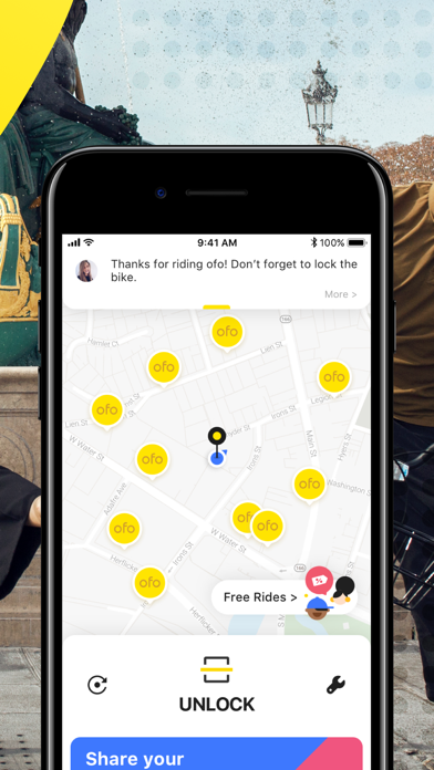 ofo — Get there on two wheels screenshot two