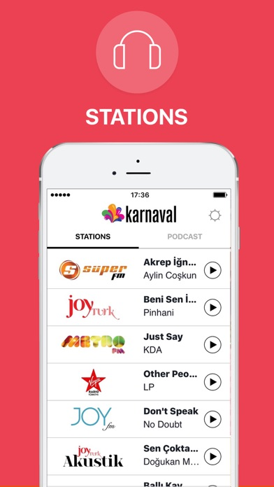 Karnaval Screenshot on iOS