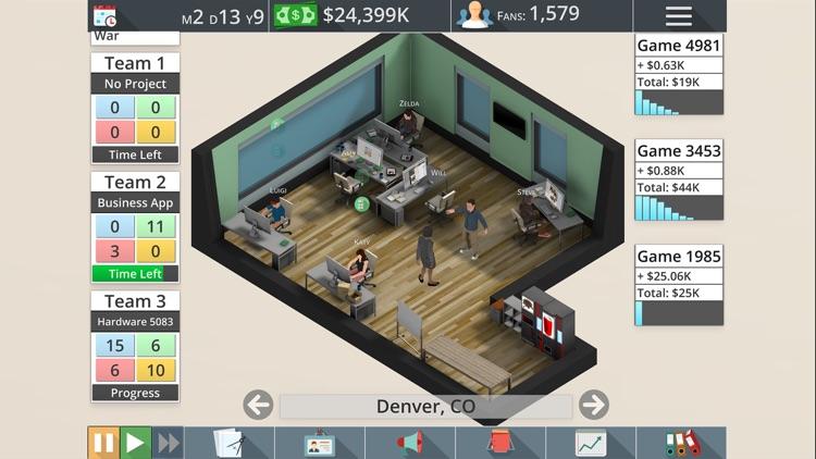 Game Studio Tycoon 3 screenshot-3