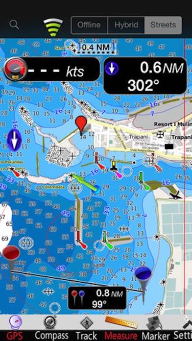 Screenshot of Isole Egadi GPS Carta Nautica4