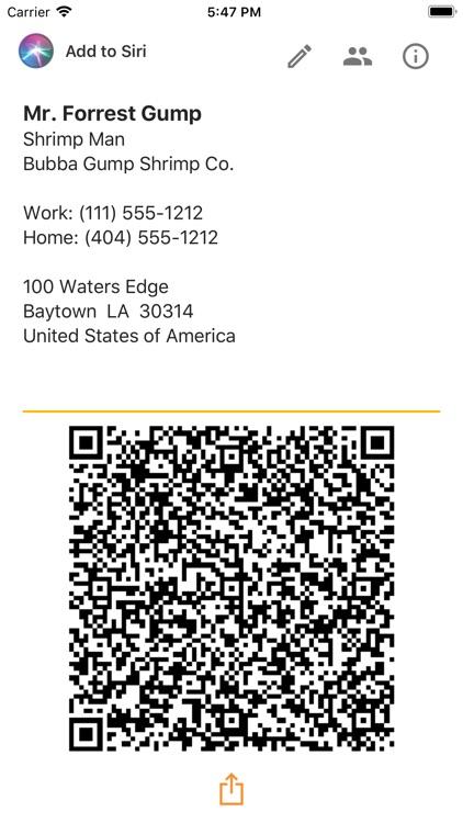 Biz-Card App