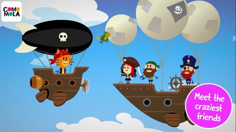 Comomola Pirates screenshot-0