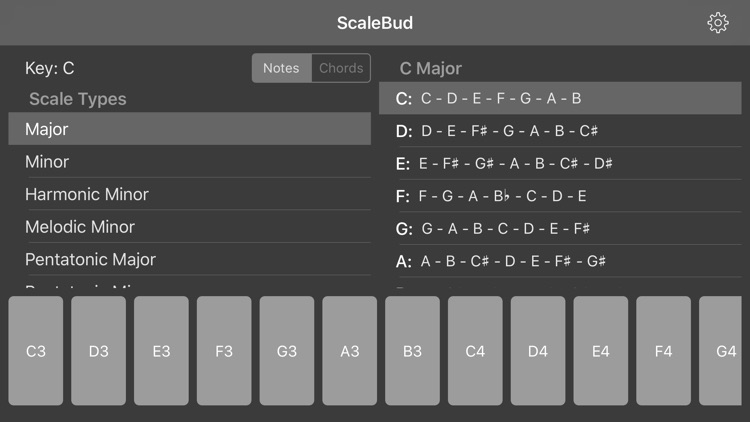 ScaleBud - AUv3 MIDI Keyboard