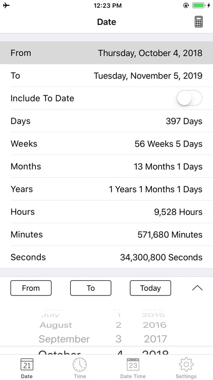 Date and Time Calculator