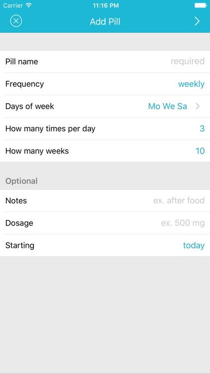 Easy Pill - medication tracker