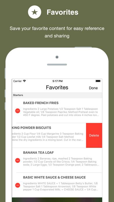 Diabetic Cookbook review screenshots
