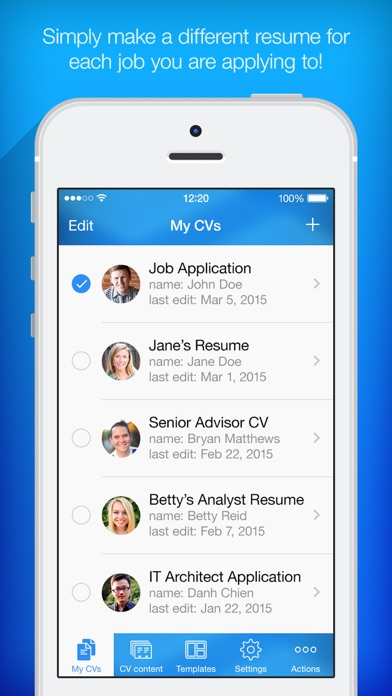 resume builder  resume creator