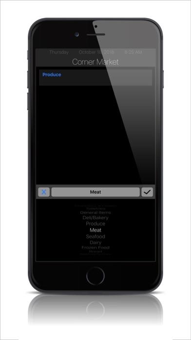 Digital Shopping List screenshot two
