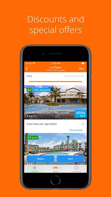 Travellooky - Flights & Hotels screenshot-4