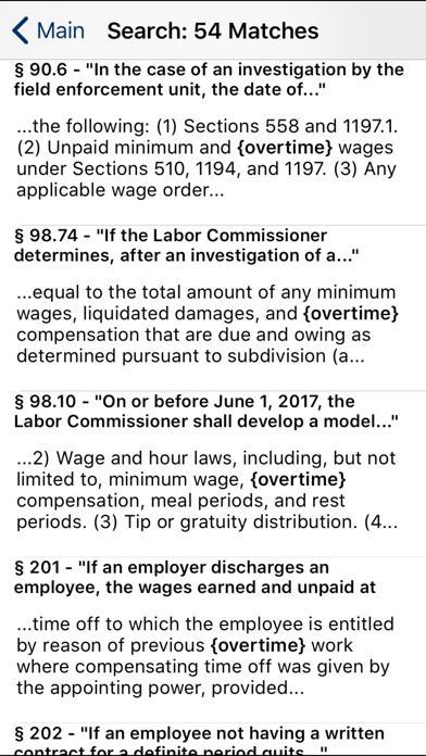 CA Labor Code 2019 screenshot two