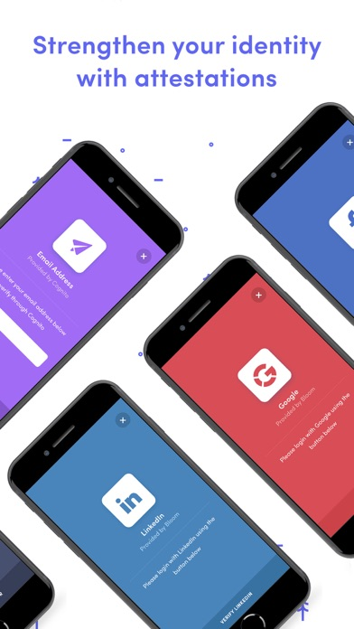 Bloom - Secure Identity app image