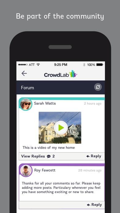 CrowdLabのスクリーンショット5